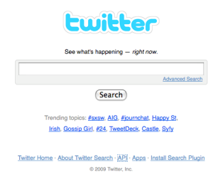 Twitter - the real value is the searchable content