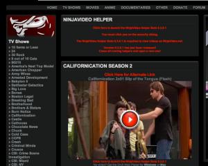 Video Streaming site - Ninjavideo.net