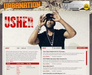 Usher on Bandit.fm